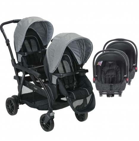 Graco Modes Duo Tandem Double Pram Twin Travel System (Snugride)