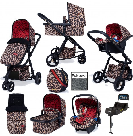 Cosatto Special Edition Paloma Giggle 3 Whole 9 Yards Port Isofix Bundle - Hear Us Roar..