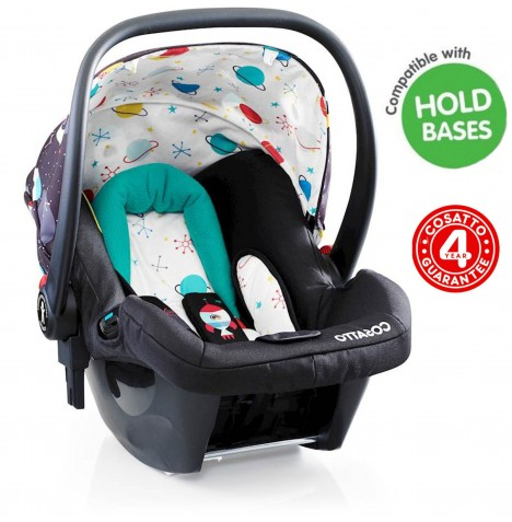 Cosatto Hold Group 0+ Baby Car Seat - Space Racer..