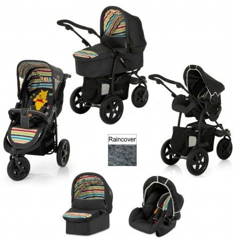 Hauck Viper Trio Set 3 in 1 Travel System - Pooh Tidy Time...