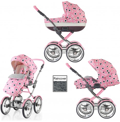 Cosatto Wonder 3 in 1 Pram / Pushchair - Bon Bon