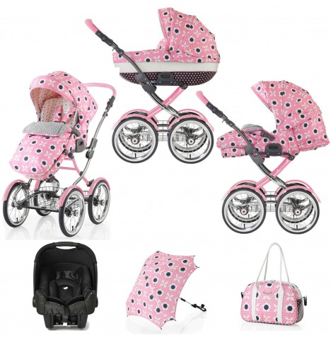 Cosatto Wonder 3 in 1 Travel System & Accessories - Bon Bon