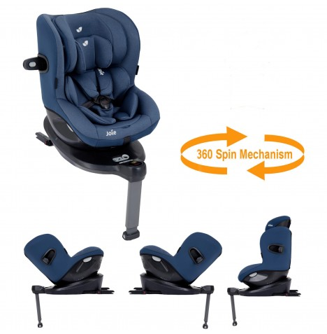 Joie i-Spin 360 iSize Group 0+/1 Car Seat - Deep Sea