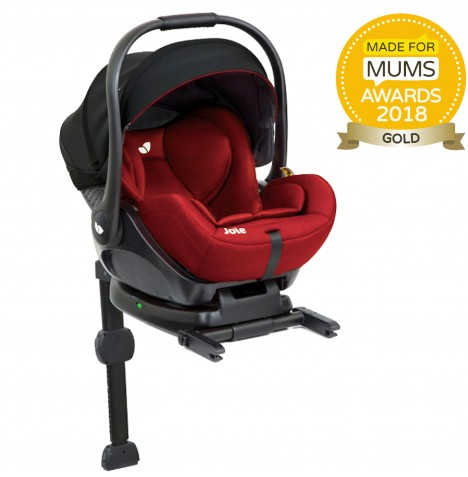 Joie i-Level (i-Size) 0+ Car Seat & Isofix Base - Lychee