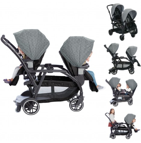 Graco Modes Duo Tandem Stroller - Shift...