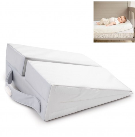 Summer Infant Good Vibes Cot Wedge Toddler Bed Baby Pillow...