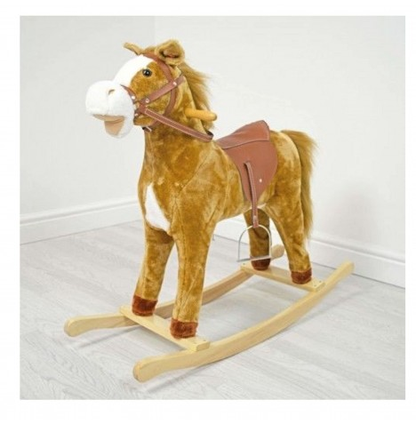 4baby Large Rocking Horse - Buttermilk