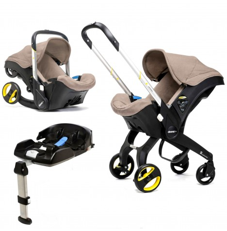Doona Infant Car Seat / Stroller With Isofix Base - Dune