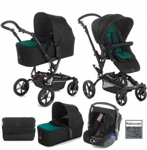 Jane Epic (Koos) Travel System & Micro Carrycot - Sequoia
