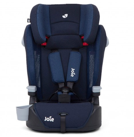 Joie Elevate Group 123 High Back Booster Car Seat - Deep Sea Blue