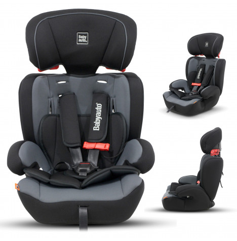 Babyauto Konar Trio Every Stage Group 123 Car Seat - Black / Grey