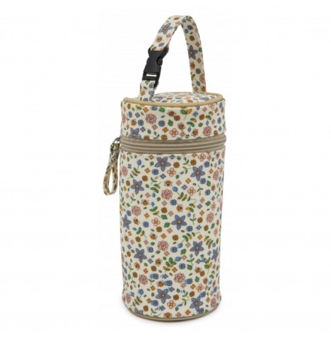 Pink Lining Insulated Bottle Holder - Busy Bees
