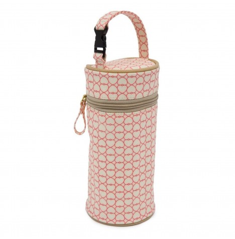 Pink Lining Insulated Bottle Holder - True Love