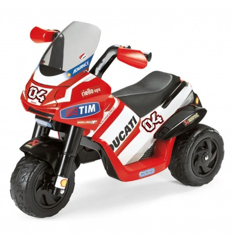 Ducati Desmosedici 6V Kids Electric Ride On Trike by Peg Perego - Red