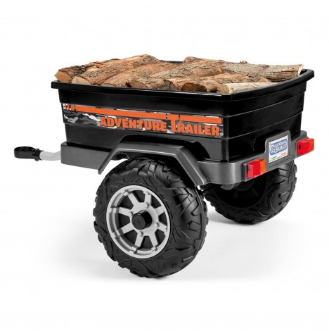 Polaris Adventure Trailer by Peg Perego - Black