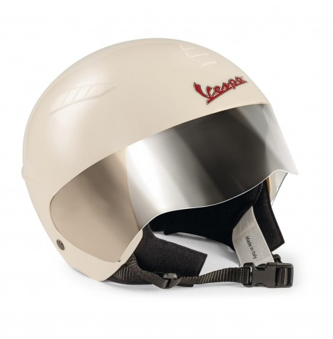 Vespa Safety Helmet by Peg Perego - Cream