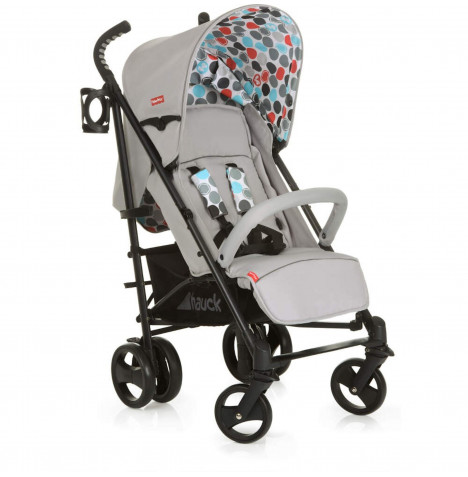 Hauck Fisher Price Easy Traveller Venice Pushchair - Gumball Grey