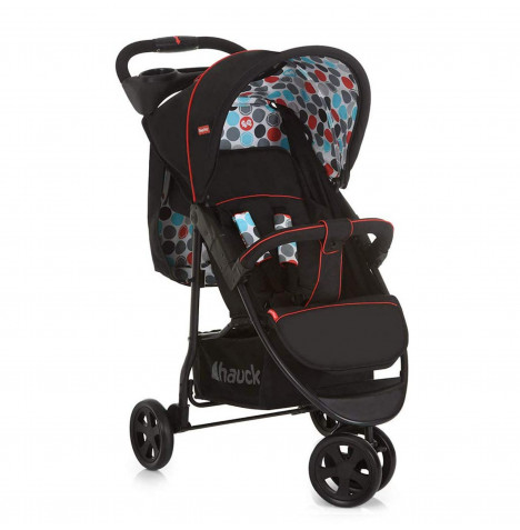 Hauck Fisher Price Easy Traveller Vancouver Pushchair - Gumball Black