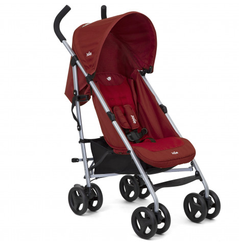 Joie Nitro Pushchair Stroller with Raincover - Cranberry
