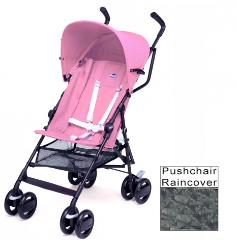 New Chicco Pink Snappy Stroller Lightweight Pushchair Baby