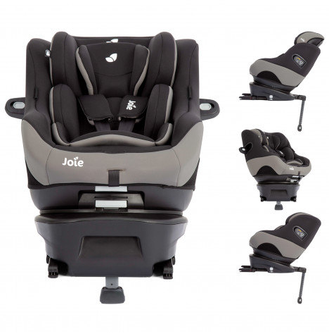 Joie Spin Safe Group 0+/1 ISOFIX Car Seat - Black Pepper