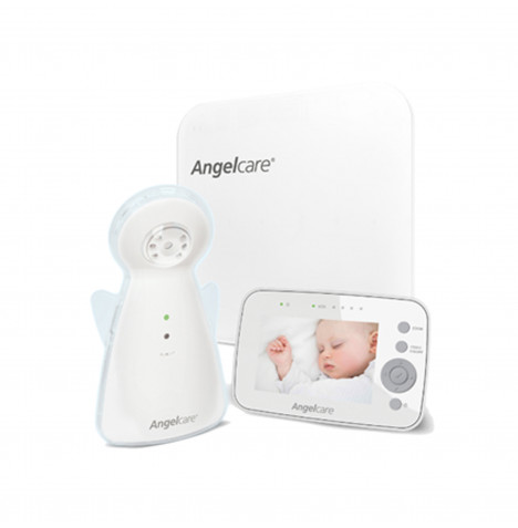 Angelcare AC1300 Baby Movement Monitor With Video - White
