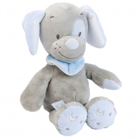 Hippychick Nattou Cuddly Toby the Dog Soft Toy
