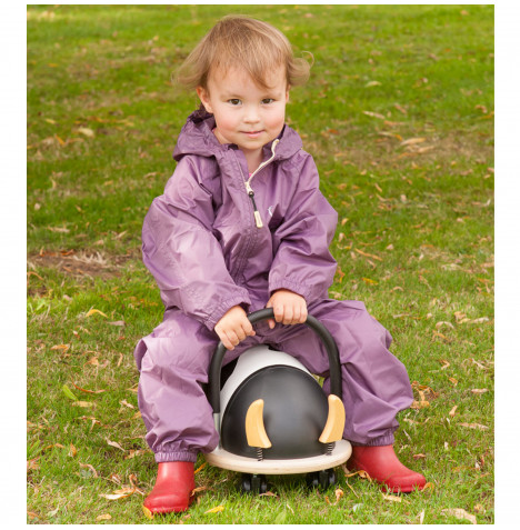 Hippychick Children's Waterproof All In One Packasuit (6-7 years) - Purple