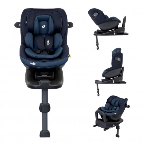 Joie i-Venture Group 0+/1 Car Seat And i-Base Advance ISOFIX Base - Deep Sea