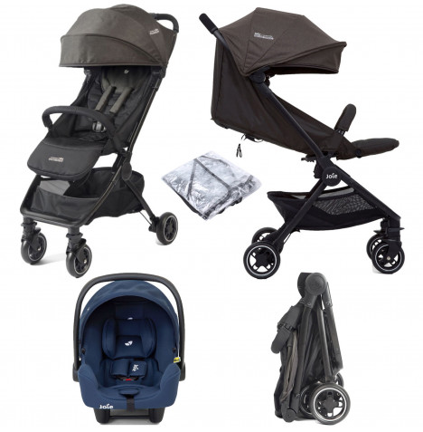 Joie Pact Travi i-Snug Travel System - Ember