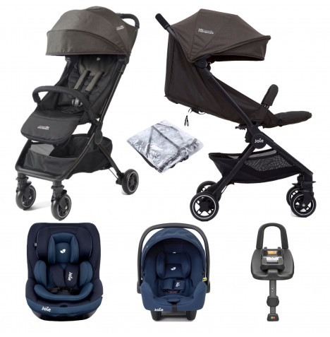 Joie Pact Travi (i-Snug & i-Venture) Travel System with ISOFIX Base Bundle - Ember