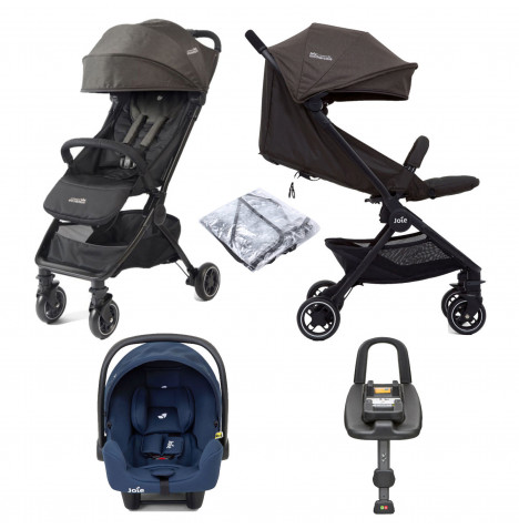 Joie Pact Travi I-Snug Travel System & ISOFIX Base - Ember