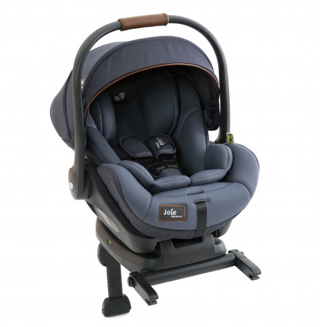 Joie Signature Edition i-Level (i-Size) 0+ Car Seat & ISOFIX Base - Granit Bleu