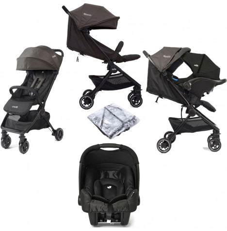 Joie Pact Travi (Gemm) Travel System - Ember