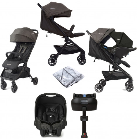 Joie Pact Travi (Gemm) Travel System with ISOFIX Base - Ember