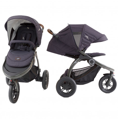 Joie Crosster Flex Signature 3 Wheeler Pushchair Stroller - Granit Bleu