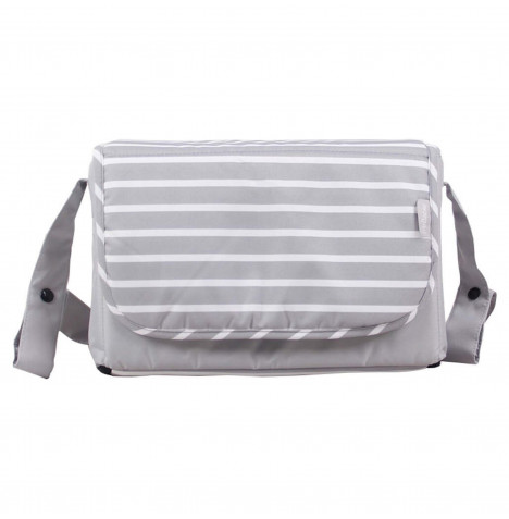 My Babiie Dreamiie Changing Bag *Samantha Faiers Collection* - Grey Stripes