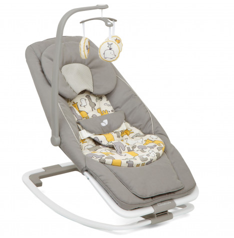 Joie Mothercare Dreamer Wisp 2in1 Baby Rocker & Bouncer - Urban Safari