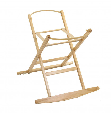 Dormouse Deluxe Moses Basket Rocking Stand - Natural