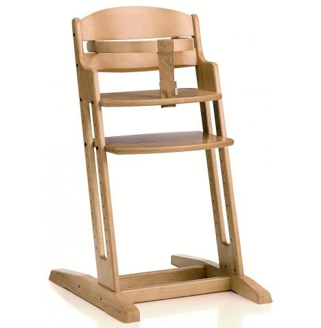 New Babydan Natural Danchair Wooden High Chair Adjustable