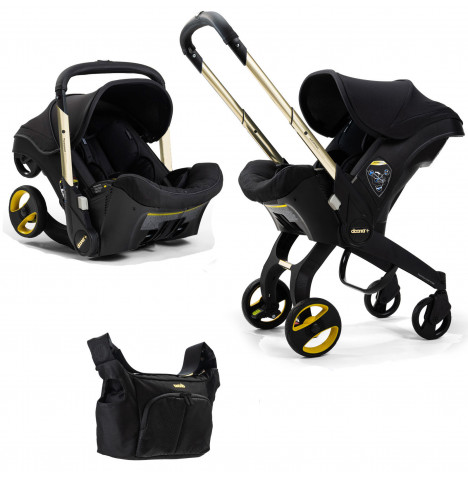 Doona Infant Car Seat / Stroller *Limited Edition* - Black & Gold