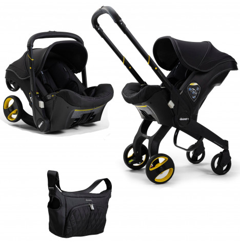 Doona Infant Car Seat / Stroller *Limited Edition* - Midnight Black
