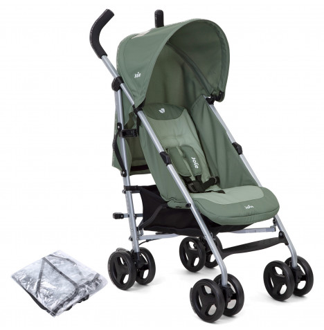 Joie Nitro Pushchair Stroller with Raincover - Laurel