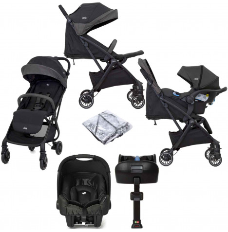 Joie Tourist (Gemm) Travel System with ISOFIX Base - Ember