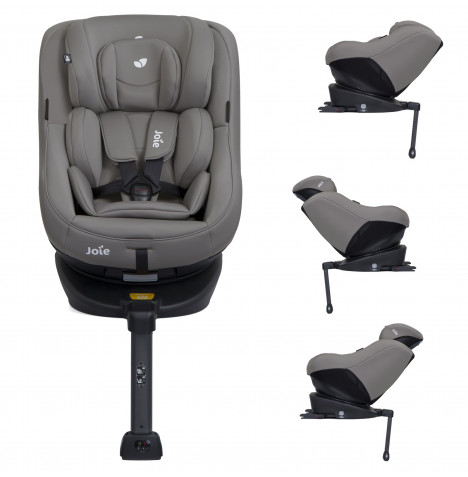 Joie Spin 360 Group 0+/1 Isofix Car Seat - Grey Flannel