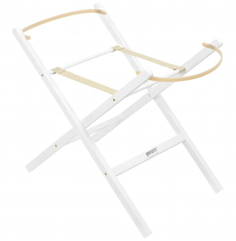 Clair De Lune Self Assembly Folding Stand - White