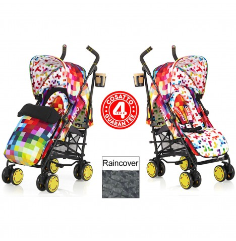Cosatto Supa Pushchair Stroller - Pixelate