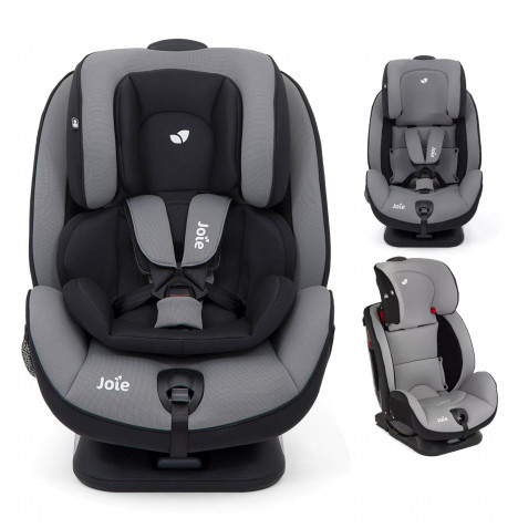 Joie Stages FX ISOFIX Group 0+,1,2 Car Seat - Slate Grey