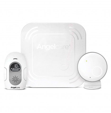 Angelcare AC117 Wireless Baby Movement Monitor With Sound - White