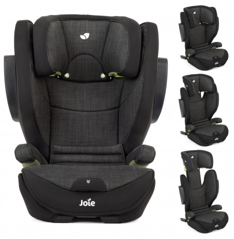 Joie i-Traver i-Size Group 2/3 ISOFIX Booster Car Seat - Flint